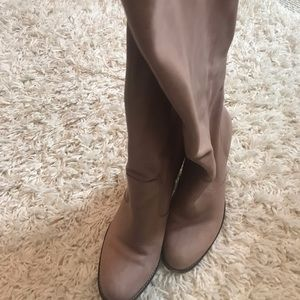 EUC Cole Haan Taupe Tall Boots. 9.5